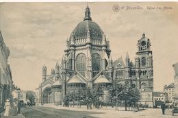CPA - Belgique - Brussels - Bruxelles - Eglise Ste Marie - Monuments, édifices