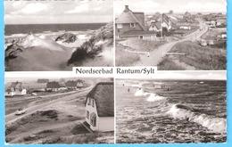Nordseebad-Rantum Insel Sylt (Schleswig-Holstein)-1959--Multivues-Dünen...Cachet De Bergstedt (Hamburg)-rare - Sylt
