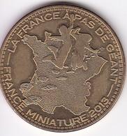Médaille Souvenir Ou Touristique > La France A Pas De Géants  Dia. 34 Mm - Monnaie De Paris