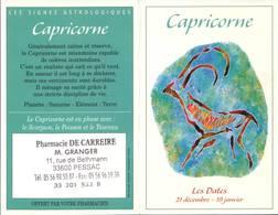 Calendrier °° 2004 - Pharma 33 Granger - Astro Capricorne - 7x10 - Calendriers