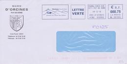 Géologie Volcans : EMA Orcines Mairie (Puy De Dôme) Berceau Du Géant Des Dômes - Volcanos