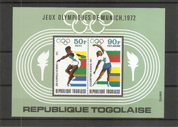 JO De Munich -1972 ( BF 62 XXX -MNH- Du Togo) - Ete 1972: Munich