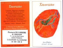 Calendrier °° 2004 - Pharma 33 Granger - Astro Taureau - 7x10 - Calendriers