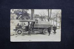 FRANCE - Carte Postale Photo - Gien - Service De Vidanges Automobile Du Centre - Gros Plan - L 32861 - Gien