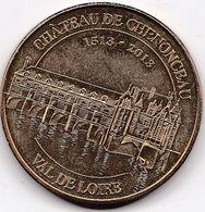 Médaille Souvenir Ou Touristique > Chateau De Chenonceau  > Dia. 34 Mm - Monnaie De Paris