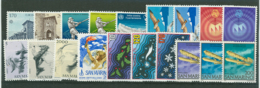San Marino 1978 Annata Completa/Complete Year MNH/** - San Marino
