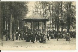 60 - BEAUVAIS / PLACE DU JEU DE PAUME - LA MUSIQUE - Beauvais