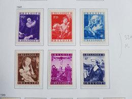 Lot Timbres Belgique N°792/797 - 1949 - Neufs - Cote Y&T: 320€ - Neufs