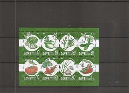 Corée Du Nord - Légumes ( 4024/4031 En Petite Feuille XXX -MNH) - Corée Du Nord