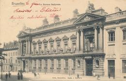 CPA - Belgique - Brussels - Bruxelles - La Banque Nationale - Monuments, édifices