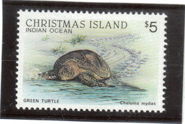 B2 - Christmas Island - PO 235 ** MNH De 1987 - Faune - Tortue Verte - Green Turtle - - Christmas Island