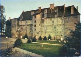 23 - Château De BOUSSAC XV E XVII E Siècles Vue De La Cour Intérieure - Boussac
