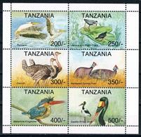 Bloc Sheet Oiseaux Birds Neuf MNH **  Tanzanie Tanzania 1994 - Autres