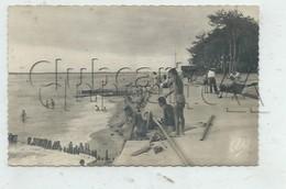 La Teste-de-Buch (33) :La Plage à Daniel Meller à Pyla-sur-Mer Prise De La Corniche En 1950 (animé) PF. - Autres Communes
