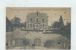Dissay-sous-Courcillon (72) : Le Chateau De La Joliverie Vue Sur Le Puit Avec Cheval En 1920 (animé) PF. - Autres Communes