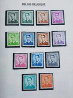 Lot Timbres Belgique - 1953/1966 (Baudouin) - Neufs - Neufs