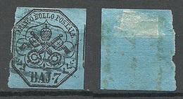 ITALY Papal State Vatican 1852 Michel 8 O - Etats Pontificaux
