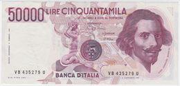 Italy P 113 A - 50000 50.000 Lire 6.2.1984 - Fine+ - [ 2] 1946-… : Repubblica