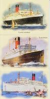 15 Cunard Ocean Liner  Postcards  Queen Elizabeth Etc Unused FREE UK P+P - Ships