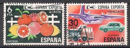 Spanien (1981)  Mi.Nr.  2509 + 2511 Gest. / Used  (11ff44) - 1931-Heute: 2. Rep. - ... Juan Carlos I