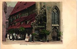 Germany, Nürnberg, Nuremberg, Bratwurstglöcklein, Old Postcard Pre. 1905 - Nuernberg