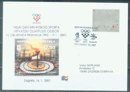 HR 2007-812 WORLD CHAMPIONSHIP , CROATIA-HRVATSKA, FDC - Kroatien