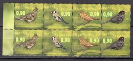 BIRDS - 2015 - BOSNIA OCC. SERBIA -  Mi.. Nr.  661/664 - NH - (CW4755.31) - Bosnia Erzegovina