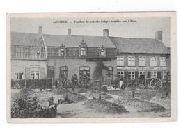 Leisele LEYSELE. - Tombes De Soldats Belges Tombés Sur L'Yser - Alveringem
