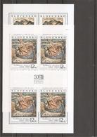 Slovaquie ( 282/283 En Feuillet XXX -MNH) - Blokken & Velletjes