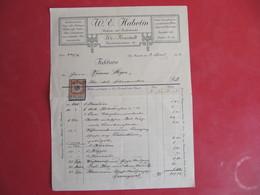 RECHNUNG:MILITÄRSTOFFE,UNIFORM- UND ZIVILSCHNEIDER,WR. NEUSTADT. - Österreich