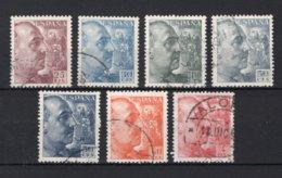 SPANJE Yt. 789/792° Gestempeld 1949 - 1931-Hoy: 2ª República - ... Juan Carlos I