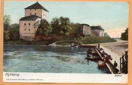 Nykoping Sweden 1900 Postcard - Sweden