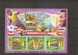 Coupe Du Monde Aux USA -1994 - Pelé ( BF 206 XXX -MNH- De Mongolie) - Fußball-Weltmeisterschaft