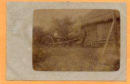Odensbacken Sweden 1911 Real Photo Postcard Nice Usage!!! - Sweden