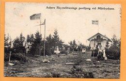 Askers Sweden 1908 Postcard - Sweden