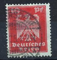 Deutsches Reich 357 Y Gest. - Oblitérés