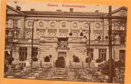 Orebro Sweden 1900 Mechanical Postcard - Sweden