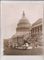 Fourth Of July Parade Passing Capitol Washington 1919 FLOAT FRANCE 26*21CM Fonds Victor FORBIN 1864-1947 - Fotos