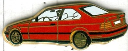 Pin's Arthus Bertrand - BMW Coupé Rouge - BMW