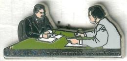 Pin's Arthus Bertrand - Banque UCINA - Bancos