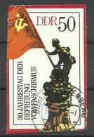 """DDR 2042 Aus Bl.42 """"30 Jahre Befreiung Vom Faschismus '75"""" Gestempelt.Mi 2,00 - DDR"""