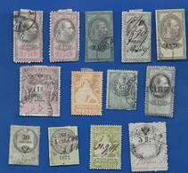 13 Timbres    Service - Steuermarken