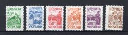 OEKRAINE Yt. 198/203 MNH** 1993 - Ukraine