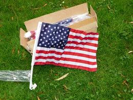LOT 20-VINGT  DRAPEAUX U.S.A. CAR FLAG - ETAT 100% NEUF - Drapeaux