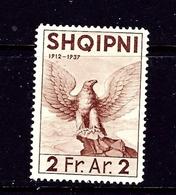 Albania 279 MH 1937 Issue - Albania