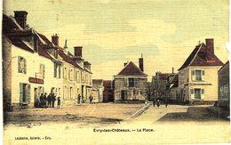 Carte Postale De EVRY Les CHÂTEAUX - La Place - Francia