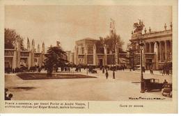 PARIS 1931 EXPOSITION COLONIALE INTERNATIONALE Porte D'Honneur Par Henri Favier Et André Ventre Autos - Tentoonstellingen