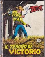 TEX IL TESORO DI VICTORIO  LIBRO FUMETTI AUTENTICO 100% - Tex