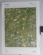 GROTE-LUCHT-FOTO SINT-BAAFS-VIJVE –ELOOIS- WAKKEN KALBERG GINSTE MARKEGEM WIELSBEKE ORTHOFOTOPLAN PHOTO AERIENNE R706 - Wielsbeke