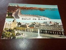 B728  Bari Saluti Viaggiata Pieghine Angoli - Bari